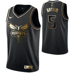 Men's Charlotte Hornets #5 Nicolas Batum Swingman
